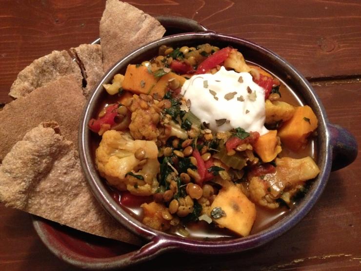 Sweet Potato Lentil Curry 2