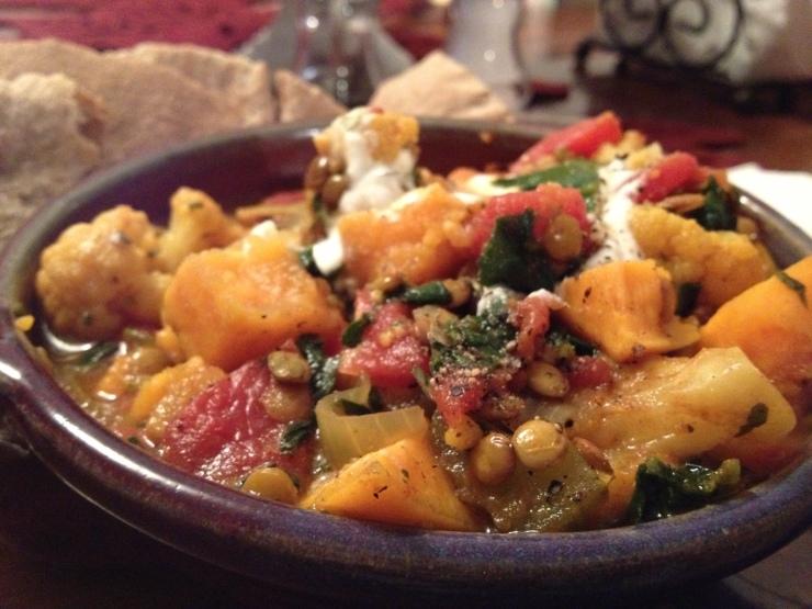 Sweet Potato Lentil Curry 3