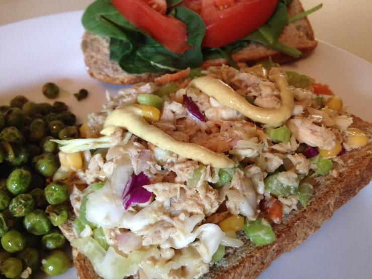 Tuna Slaw Picnic Sandwich