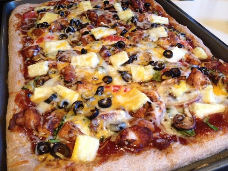 BBQ Chicken Pizza_Revisited