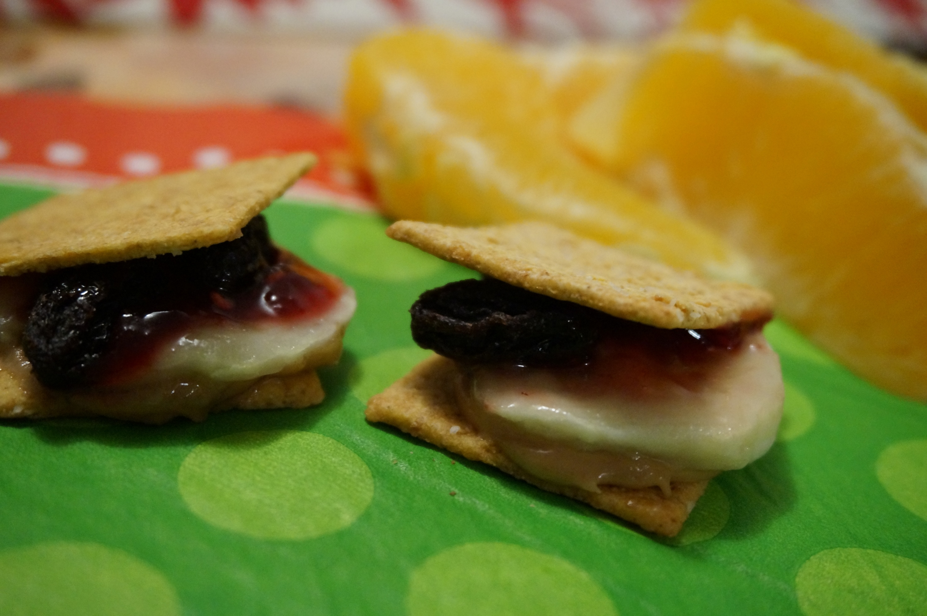 PBJ and banana bites