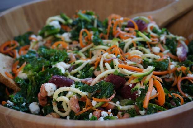 Roasted Beet and White Bean Salad w/ Rosemary-Lemon Vinaigrette