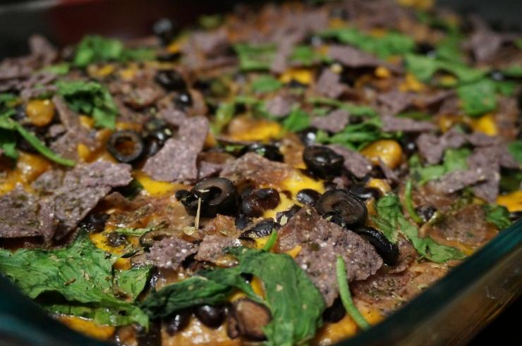 Chicken Taco Casserole