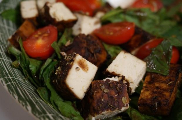Slow-Roasted Balsamic Tofu