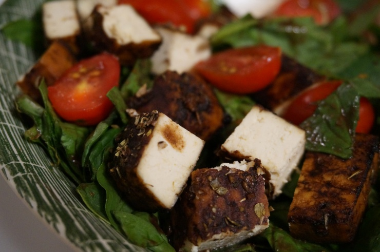 Slow-Roasted Balsamic Tofu