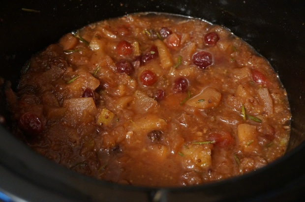 Cook salsa on low for up to 6 hours or until broken down.