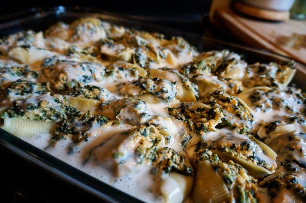 Pumpkin Ricotta Stuffed Shells