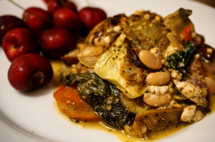 Baba Ghannouj Pesto Lasagna